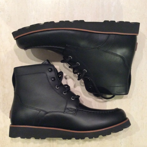 bd19532e500 UGG AGNAR Waterproof Leather Men's BOOTS NWT